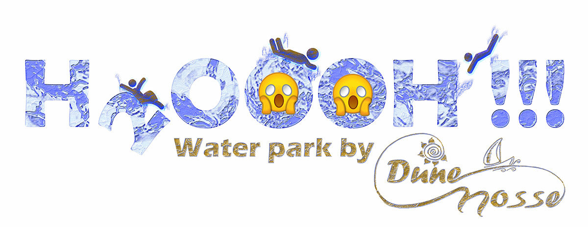 H2OOOH Water park logo